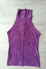 Haut animal print violet CAMAÏEU  taille 1, tbe !
