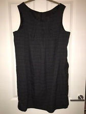 Mothercare M2b Grey Checked Lined Maternity Dress size 18 NEW RRP £40