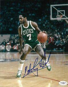 Nate Tiny Archibald Signed 8x10 Photo Autographed JSA COA Boston Celtics 08