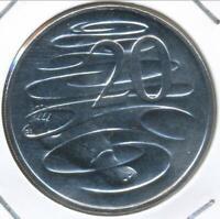 Australia, 2010 Twenty Cents, 20c, Elizabeth II - Gem Uncirculated
