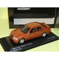 MERCEDES CLASSE C 220 W202 1997 Designo Orange MINICHAMPS 1:43