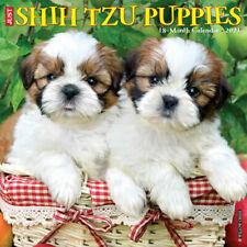 Just Shih Tzu Puppies (dog breed calendar) 2021 Wall Calendar (Free Shipping)