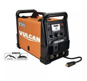 New Vulcan OmniPro 220 57812 Industrial Multiprocess Welder w/120/240 Volt Input