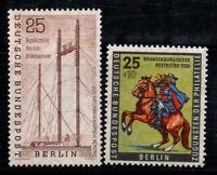 Berlino 1956 Mi. 157-158 Nuovo * 100% Industria. giornata del francobollo