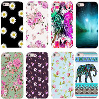 FOR IPHONE 4 4S 5 5S 5C 6 6S & OTHER MOBILES PRETTY DESIGNS HARD BACK CASE COVER