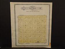North Dakota Bottineau County Map Hastings Township  1910 Q6#67