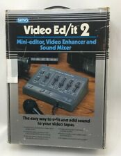 SIMA VIDEO ED/IT 2, MINI-EDITOR, VIDEO ENHANCER & SOUND MIXER NEW UNUSED IN BOX