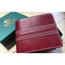 Crown Majestic Italian Leather Cricket Ball Wallet