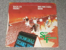"Stiff Little Fingers ‎– Back To Front / Mr Fire Coal-Man 7""   1980  PUNK!!"