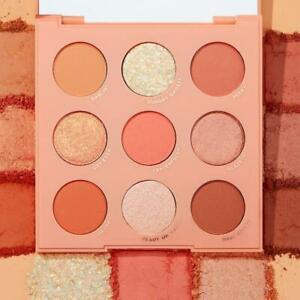 Colourpop Baby Got Peach Monochromatic Pastel 9 Shade Eyeshadow Palette NIB
