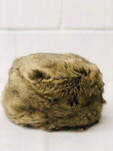 Women's Winter Cossack Cosy Faux Fur Hat Fawn