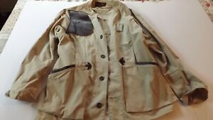 Vintage 10X Hunting Jacket For Shooting Size 42