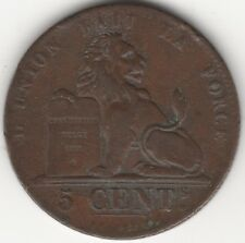 More details for 1842 belgium 5 cents   european coins   pennies2pounds