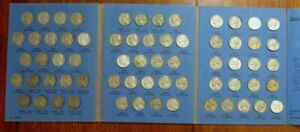 COMPLETE SET 1938-59 Jefferson Nickels Collection SILVER War 1950-D Bulk & SAVE