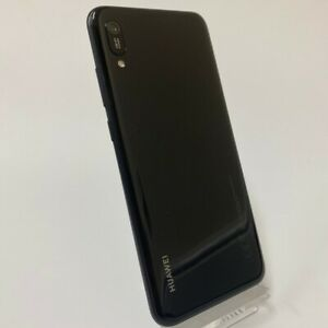 Huawei Y6 2019 32GB Unlocked Black Blue Android Smartphone Mobile | Very Good