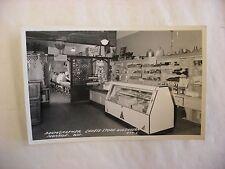 Real Photo Postcard RPPC Baumgartner Tavern & Cheese Store Monroe Wisconsin WI