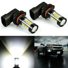 JDM ASTAR 2x 80W H10 9145 High Power LED CREE 6000K Super White Fog Lights Bulbs