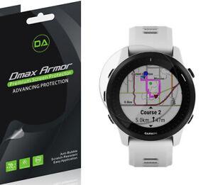 6x Dmax Armor Anti Glare Matte Screen Protector for Garmin Forerunner 945 LTE