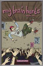 MY BRAIN HURTS VOL. 2 graphic novel LIZ BAILLIE small press comic minicomic 2009