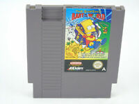 The Simpsons Bart Vs The World NES Nintendo Cartridge Only PAL