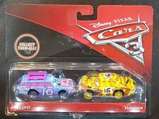 DISNEY PIXAR CARS 3 BLIND SPOT PUSHOVER 2 PACK 2017 SAVE 5% WORLDWIDE FAST SHIP