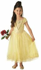 Rubie's Official Disney Belle Beauty and The Beast Movie Childs Deluxe Costume M