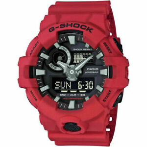 Authentic Men's GA700-4A G-Shock Casio Shock & Water Resist LED Ana-Digi Watch