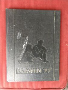 "1977 Newark High School Yearbook ""Krawen"" Delaware DE."