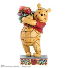 Disney Traditions Friendship Bouquet Winnie The Pooh Figurine 16.5cm 4031479