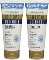 Gold Bond Ult Healing Skin Therapy Crm with Aloe- 5.5 oz (2 Pack) - Pkg Varies