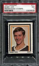 PSA 7 .. 1972 Sargent Promotions Stamps #17 BOBBY ORR