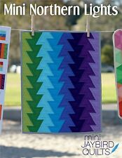 Mini Northern Lights Quilt Pattern ~ Jaybird Quilts ~ uses Mini Hex N More ruler