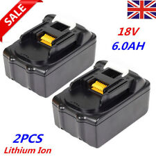 2x 6.0AH 18V Battery For Makita BL1860 BL1840 BL1830 LXT Lithium Ion Cordless UK