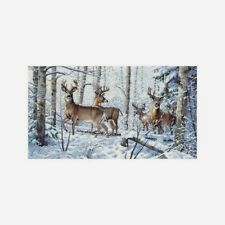 """Dimensions Gold Collection Counted Cross Stitch Kit  Woodland Winter 18""""X10"""" NEW"""