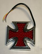 LED Iron Cross accessory 3rd brake light 4 x 4 x 1 inch