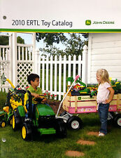 ERTL 2010 JOHN DEERE LARGE TOY CATALOG 1/64 1/50 1/16