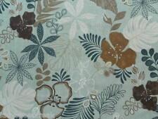 Harlequin Curtain Fabric KIANA 70cm x 128cm Duck Egg Floral Design