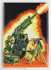 G.I. Joe Howitzer FRIDGE MAGNET (2 x 3 inches) cobra real american hero