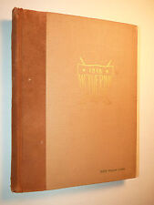 RARE MICHIGAN STATE UNIVERSITY MSU SPARTANS 1918 WOLVERINE YEARBOOK 96 Yrs OLD