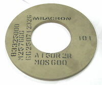 "9 x 3/8 x 4"" HOLE 150 Grit Surface Grinder Grinding machine wheel Cinci Milacron"