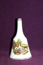 Prinknash English cottage country scene porcelain china bell