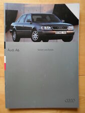 AUDI A6 & S6 Saloon & Estate 1995 prestige brochure