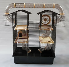Hamster Cage Tubes House Wheel Mice Mouse Pet Small Animal Rodent 100ml Bottle