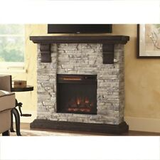 Home Decorators Collection 40 in Media Console Electric Fireplace TV Stand