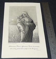 CHROMO 1920-1930 IMAGE PIEUSE CATHOLICISME HOLY CARD  RELIGION VIERGE MARIE