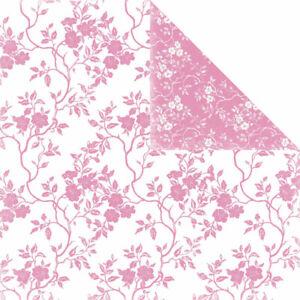 Scrapbook Paper: Flowers - Damask - Fleur de Lis - Double-sided U-CHOOSE COLOR