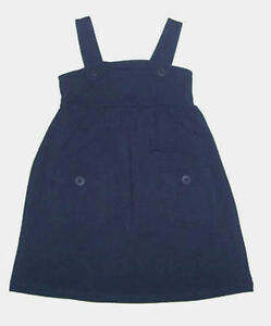 BNWT Sketch Kids Girls Black Pinafore Dress Winter - Size 1 2 3