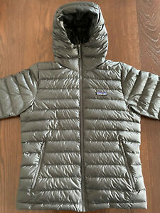Men's Down Sweater Hoody - Forge Grey - Größe: M