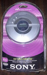 Vintage NEW SEALED SONY CD Walkman D-EJ109 Portable CD Player Skip-Free & Timer