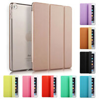 Smart Stand New Leather Case Cover for All Apple iPad 10.2 10.5 Mini Air Pro 9.7